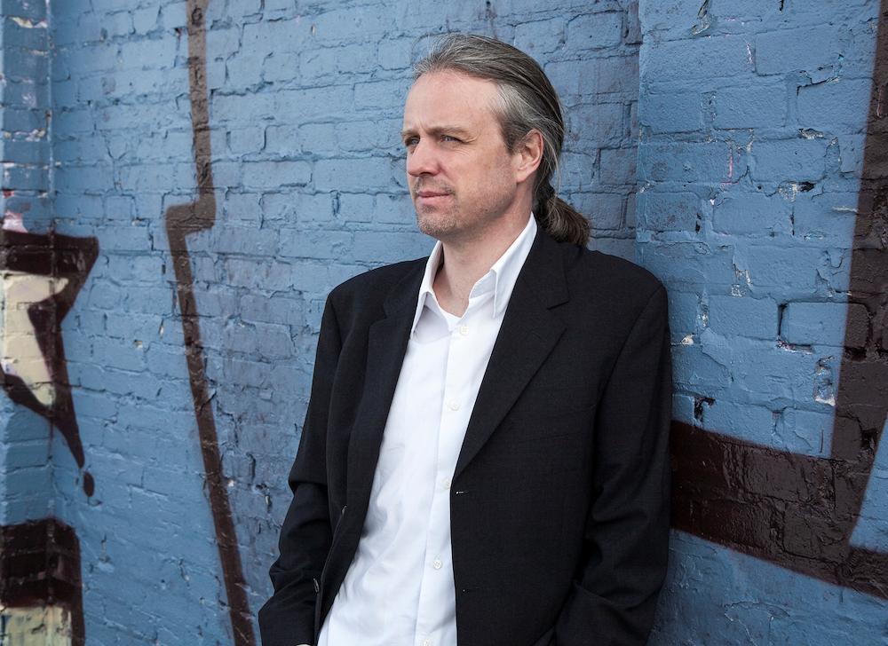 Bo Skjoldborg i Charlotte Heje Haases podcast Forfatterhjørnet