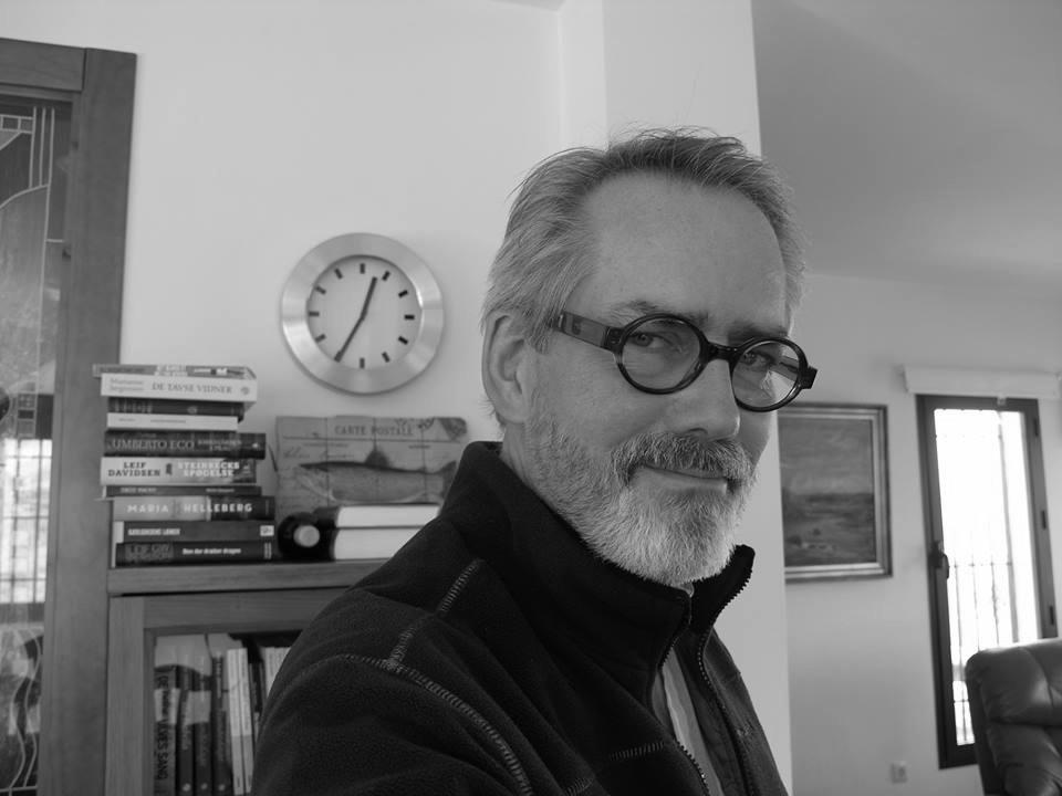 Per Lau Jensen i Charlotte Heje Haases podcast Forfatterhjørnet