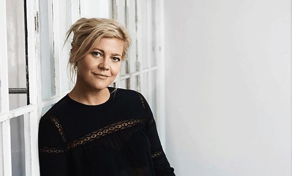 Lykke Rix i Charlotte Heje Haases podcast Forfatterhjørnet