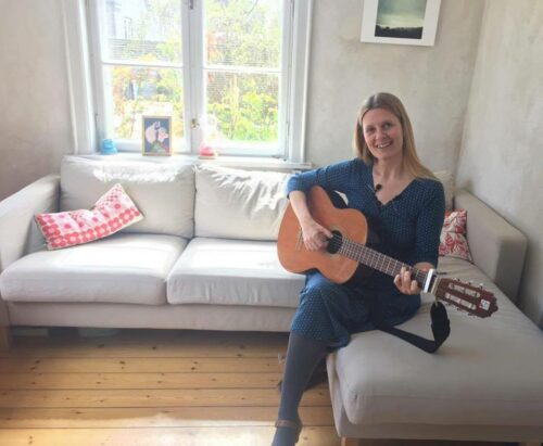 Lise Meijer i Charlotte Heje Haases podcast Forfatterhjørnet