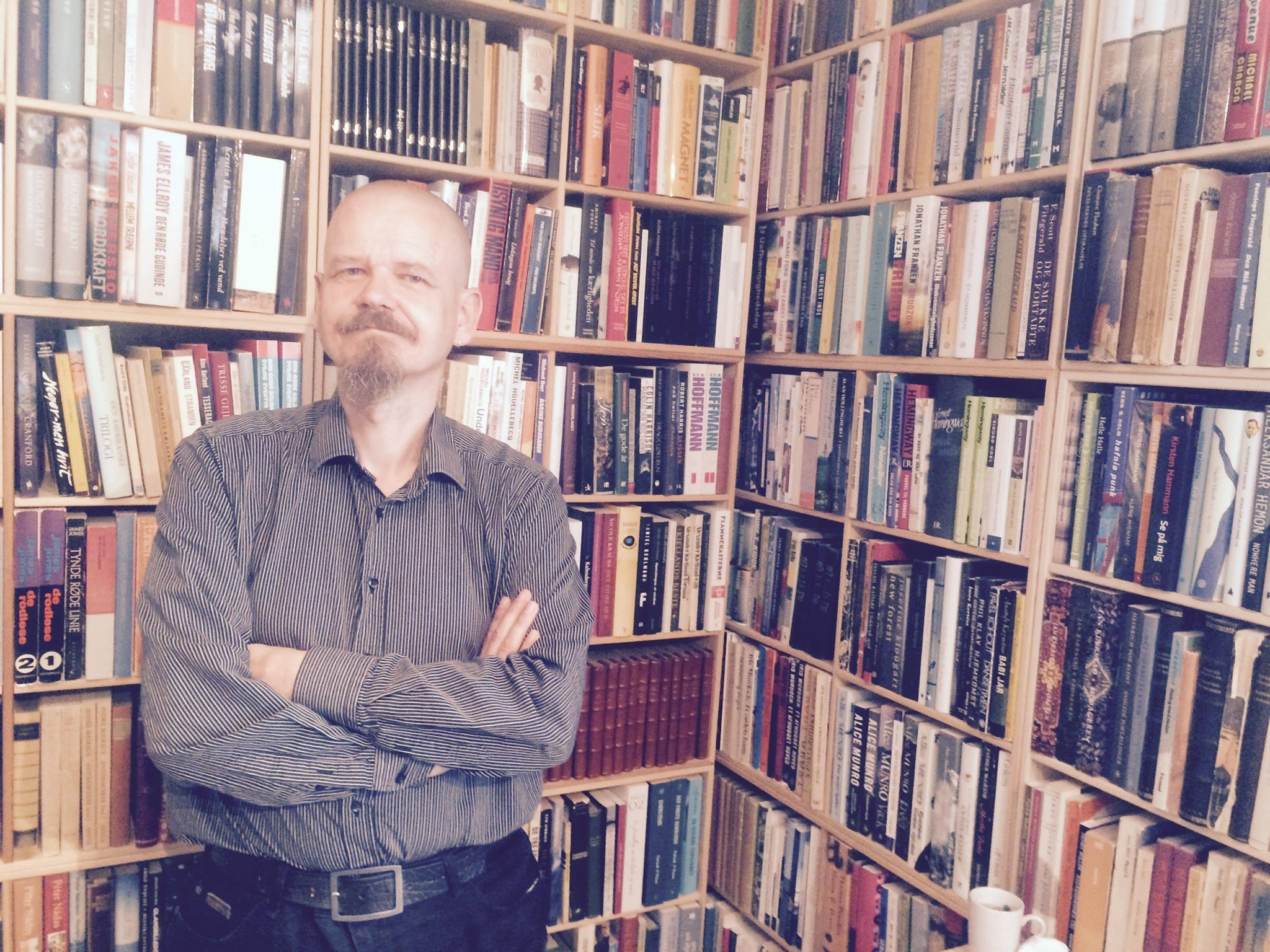 Kim Leine i podcasten Forfatterhjørnet