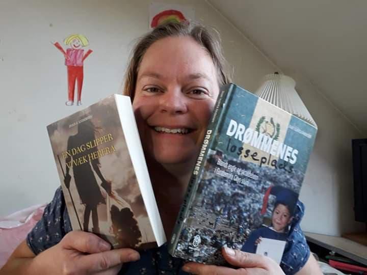 Månedens forfatter Joan Juanita Andersen